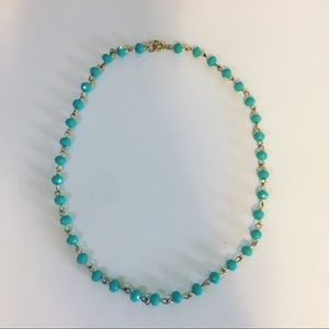 Jewelry - Turquoise beaded choker necklace